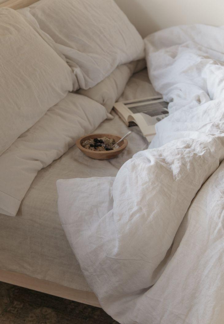 linen duvet set linen sheet set